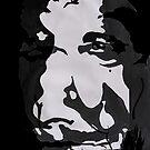 Distorted Self Portrait 2  by Richard  Tuvey