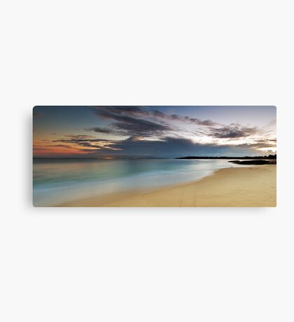 Jibbon Beach Panorama Canvas Print