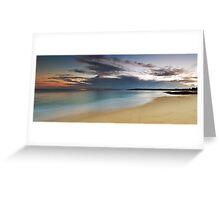 Jibbon Beach Panorama Greeting Card