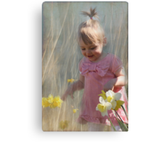 joy of spring Canvas Print