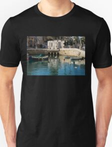 From St Julians With LOVE - Malta's Controversial Inverted Love Statue Unisex T-Shirt