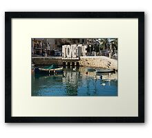 From St Julians With LOVE - Malta's Controversial Inverted Love Statue Framed Print