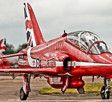 Red Arrows Taxi by andy lewis