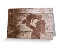 Mother and child in love Greeting Card