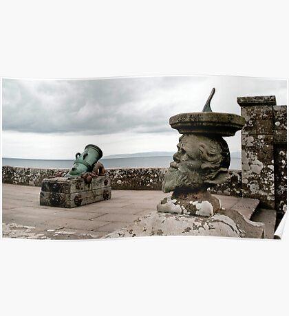 """Culzean Castle, Sea View"" Poster"