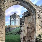 Kenilworth Castle ( 6b ) In the Frame by Larry Lingard-Davis
