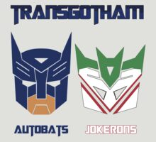 Batman and Transformers - TransGotham by micromegas