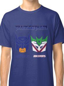 Batman and Transformers - TransGotham Classic T-Shirt