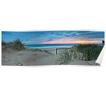 Currumbin Beach Sunrise - Panorama Poster