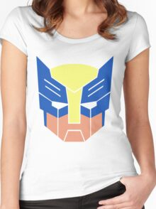 Wolverine Transformers Retro Style Women's Fitted Scoop T-Shirt