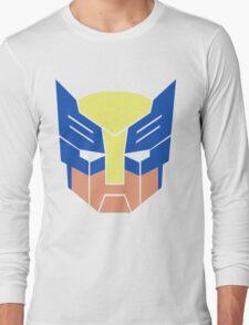 Wolverine Transformers Retro Style Long Sleeve T-Shirt