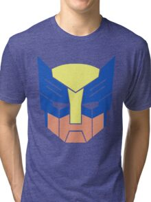 Wolverine Transformers Retro Style Tri-blend T-Shirt