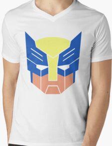 Wolverine Transformers Retro Style Mens V-Neck T-Shirt
