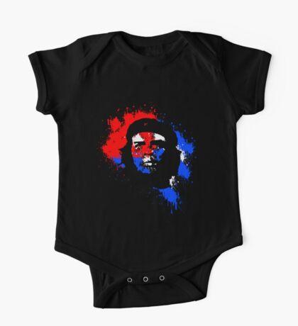Che Guevara Paint Drops One Piece - Short Sleeve