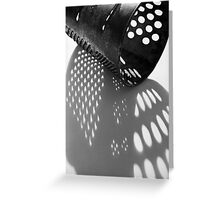 grater Greeting Card