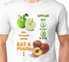 Apples are 1 of your 5 a day Unisex T-Shirt