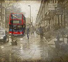 Rainy day in London by Heather Thorsen