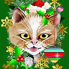 MEOWY CHRISTMAS by Lotacats