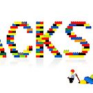 Jackson in Lego by Addison
