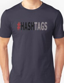Twitter Hashtag (Black/Grey) T-Shirt