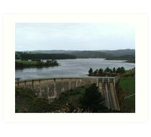 Myponga Reservoir (2259) Art Print
