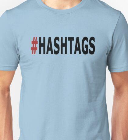 Twitter Hashtag Unisex T-Shirt