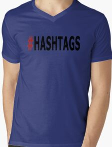 Twitter Hashtag Mens V-Neck T-Shirt
