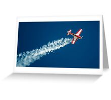 The Stunt Pilot Greeting Card