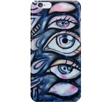 Blink of an eye iPhone Case/Skin