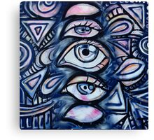 Blink of an eye Canvas Print