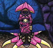 Hybrid Squid Pink by jhawkinsart