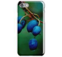 blueberry ash (Fraser Island) iPhone Case/Skin