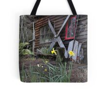 Denny's Workshop - Melaleuca, Tasmania Tote Bag