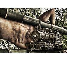 Male Railways Photographic Print