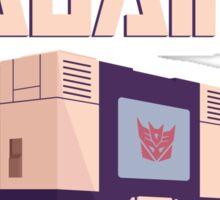 Transformers Soundwave Casablanca Style Sticker