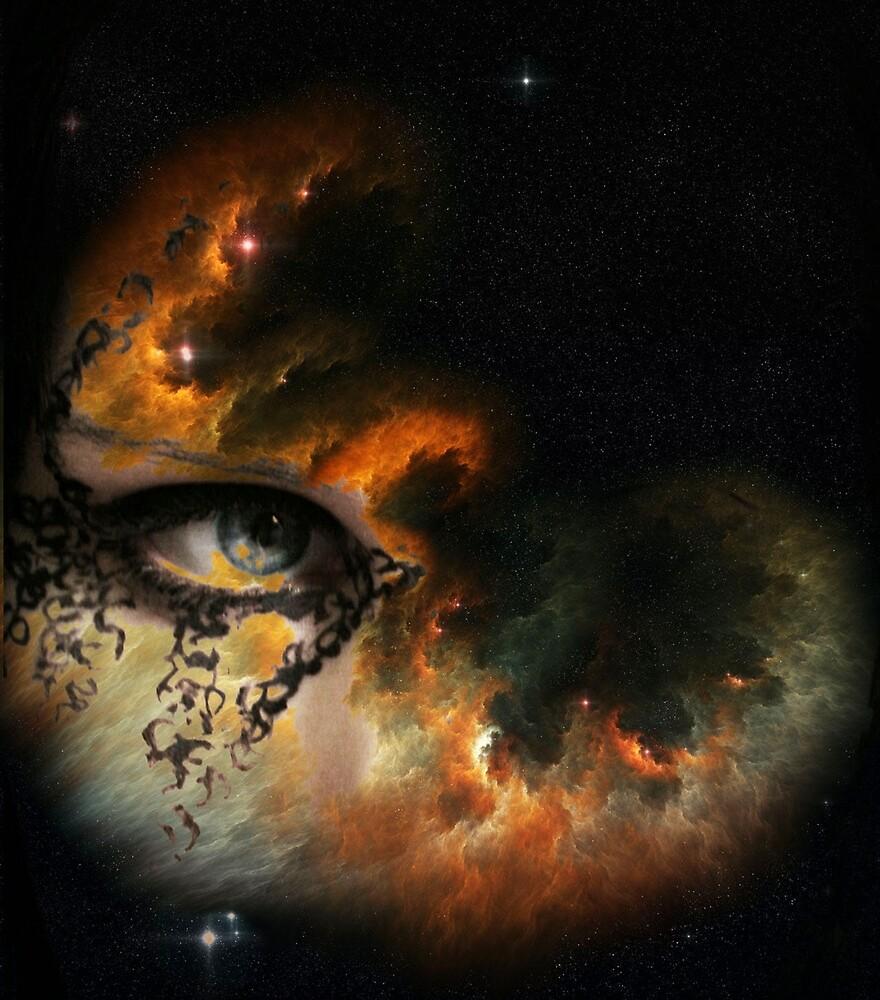 EYE OF FIRE NEBULA by Tammera