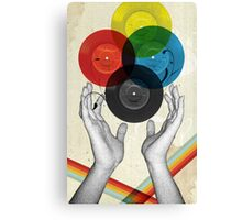 CMYK - the creation of retro Canvas Print