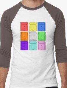 Gameboy Cartridge Pop Art Men's Baseball ¾ T-Shirt
