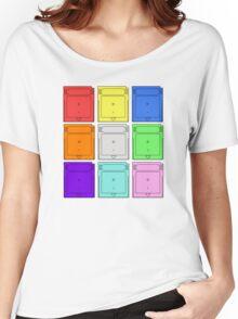 Gameboy Cartridge Pop Art Women's Relaxed Fit T-Shirt