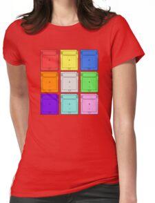 Gameboy Cartridge Pop Art Womens Fitted T-Shirt
