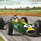 Jim Clark (Natural born racer) by Chris-Cox