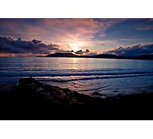 Sunset over Bolus - Co. Kerry Photographic Print