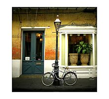 Silver Bike  Photographic Print