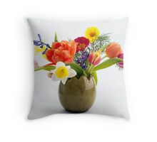 Easter composition Throw Pillow
