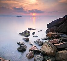 Sunrise to Rocks !!! by Yannick Lefevre