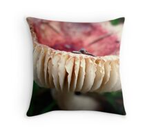 A Bit of a Frill Throw Pillow