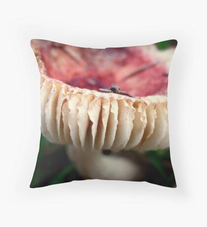 A Bit of a Frill Throw Pillow