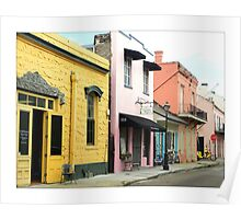 Early Morning In The French Quarter Poster