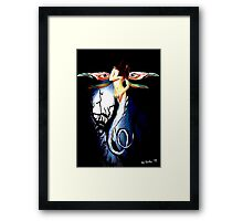 Lady Dragonfly Framed Print