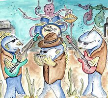 """The """"Blues""""fish by Deborah Vicino"""
